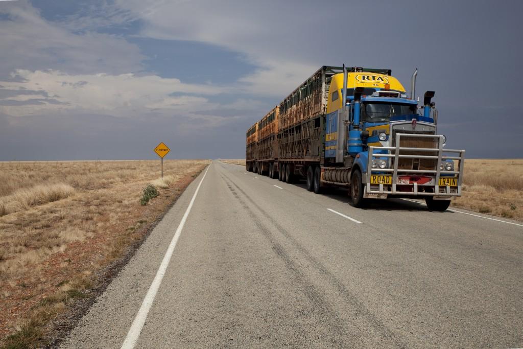 Road train australien