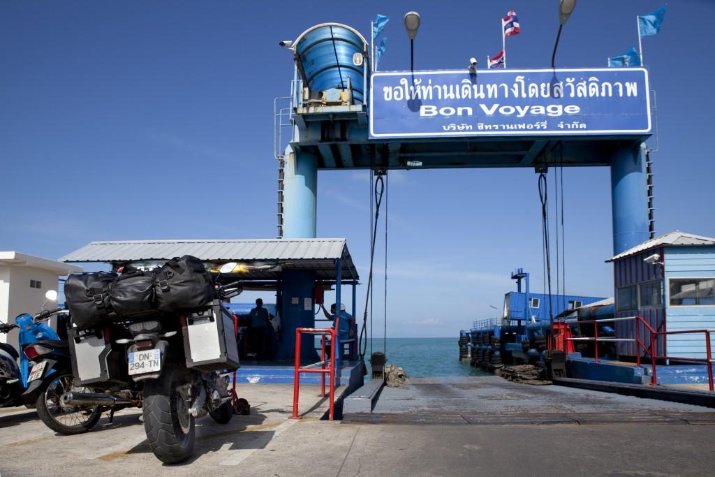 Ferry pour les îles thaï