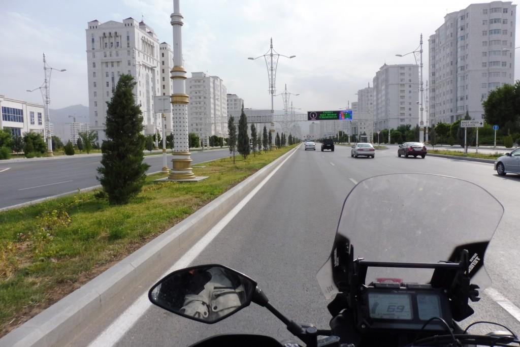 Achgabat, l'étrange .capitale turkmène